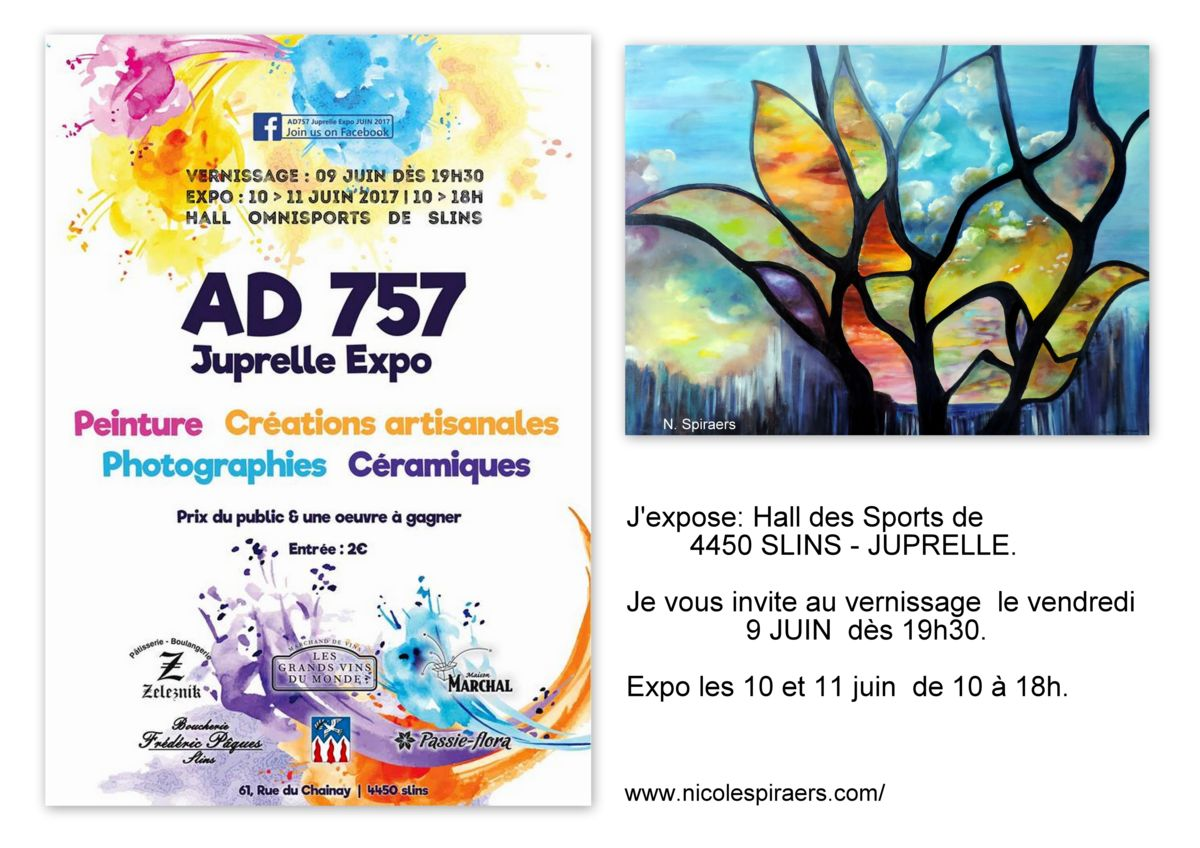 Hall des Sports Slins, expo collective, AD757